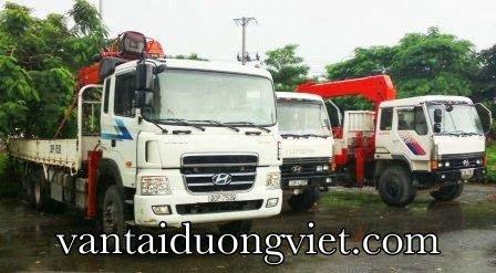 Dịch vụ vận tải bằng xe cẩu, cho thuê xe cẩu