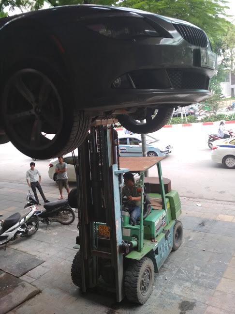 Dịch vụ nâng hạ, cho thuê xe nâng