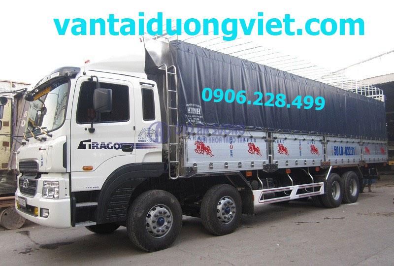 Xe tải chở hàng thuê, dịch vụ xe tải chở hàng