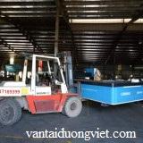 dịch vụ vận chuyển- dich vu van chuyển hàng hóa, xe nâng vận chuyên máy